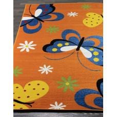 0772-orange Ковер в детскую